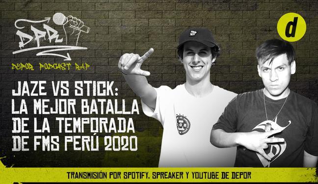 Jaze vs Stick: la mejor batalla de la temporada de FMS Perú 2020