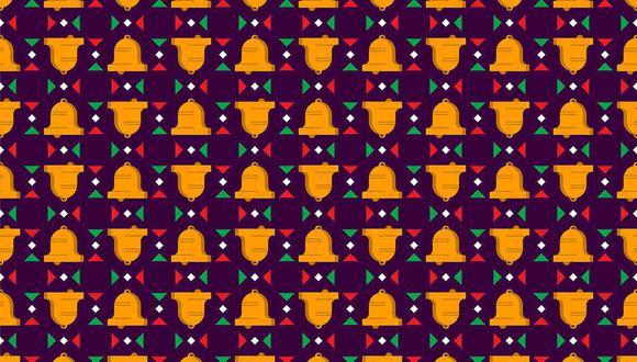 Tienes que hallar las campanas sin badajo en la imagen. (Foto: Noticieros Televisa)