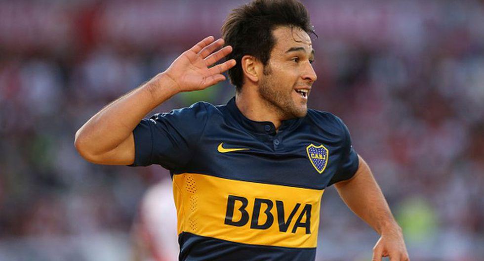 Nicolás Lodeiro también vistió la '10', hasta la llegada de Tévez.