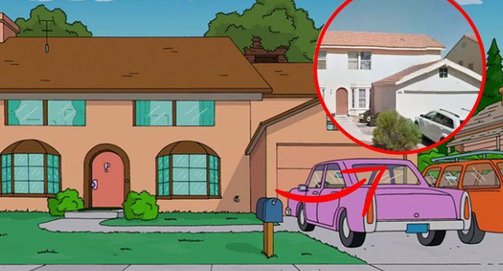 """Usuarios encuentran la verdadera casa de """"Los Simpson"""" en Google Maps y no creerás cómo luce. (Fox)"""