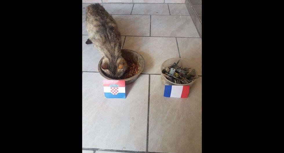 Francia venció a Croacia en la final del Mundial Rusia 2018 por 4-2.