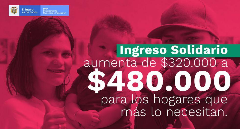 Ingreso Solidario $480.000 DNP: ¿cuándo se podrá cobrar el tercer giro del Gobierno de Colombia? (Foto: Captura)
