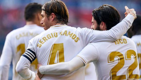 Sergio Ramos viene de marcar ante Barcelona por el Clásico de España. (Getty)