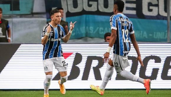 Pepe marcó el primer gol para Gremio de Porto Alegre. (Foto: Conmebol).