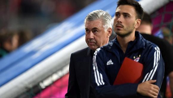 Davide Ancelotti es el segundo de su padre desde el Bayern Munich. (Foto: AFP)