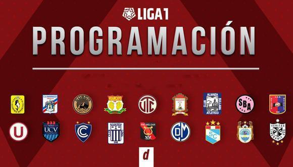 Sigue la programación de la Liga1 2021. (Diseño: Depor)