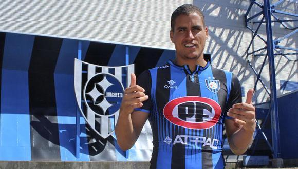 Alexander Succar llega a préstamo por toda la temporada 2019. (Prensa: Huachipato FC)
