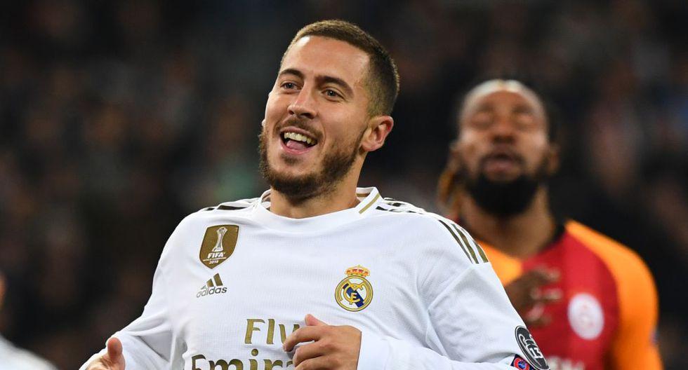 Eden Hazard llegó esta temporada al Real Madrid, proveniente de Chelsea inglés. (Foto: AFP)
