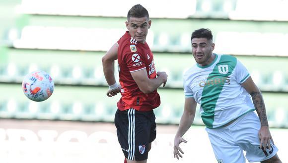 Con gol de Juan Pablo Álvarez a los 64′, Banfield sorprendió a River en el estadio Florencio Sola. (Foto: @RiverPlate)