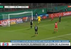 Es campeón de la Champions, pero...: Bayern Múnich fue eliminado de la Copa de Alemania por el Holstein Kiel de la Bundesliga 2 [VIDEO]