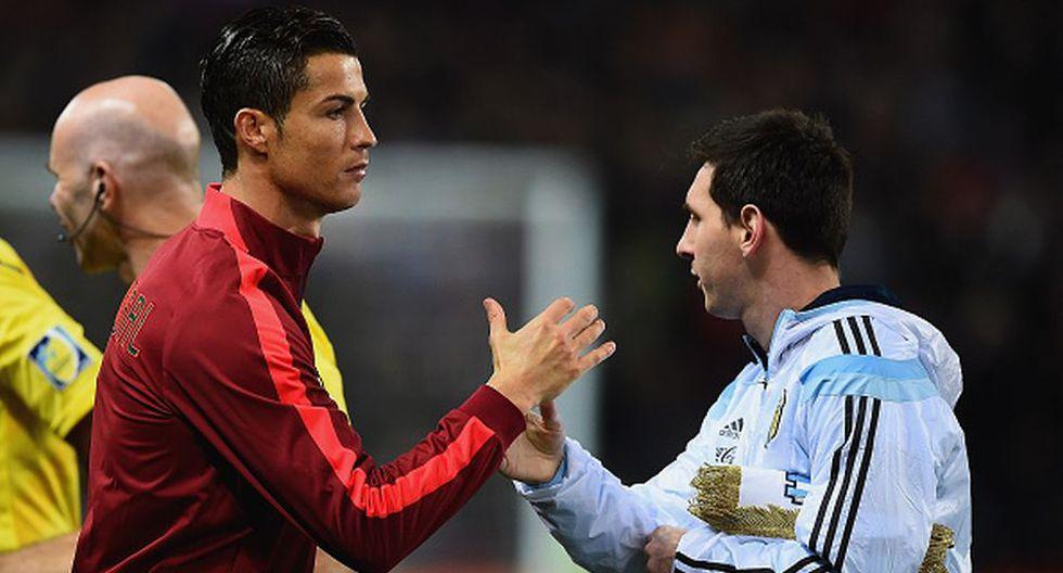 Cristiano Ronaldo y Lionel Messi se enfrentaron en LaLiga de España hasta la temporada 2017-18. (Getty)