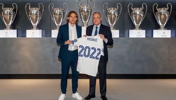 Luka Modric ha ganado cuatro Champions League con el Real Madrid. (Foto: Real Madrid)