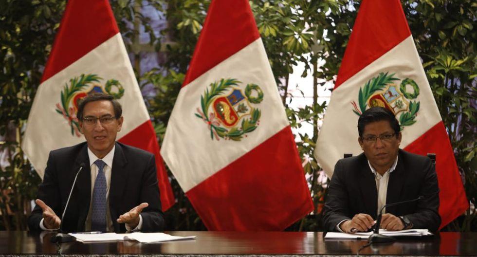 Martín Vizcarra pide respetar el Estado de Emergencia. (Foto: José Rojas Bashe/GEC)