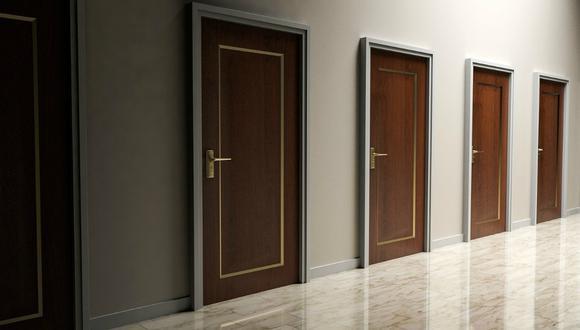 Test de personalidad. Responde cuál de todas las puertas llama más tu atención y te diremos tu mayor temor. (Foto: Referencial / Pixabay)