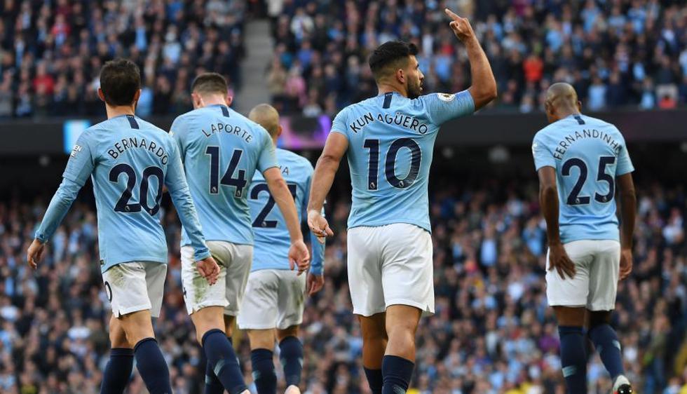 Manchester City cumplió en ganarle en condición de local al modesto Brighton. (Fotos: Agencias)