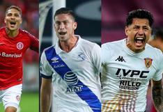 Opciones de ataque para Gareca: actualidad de los delanteros peruanos en el exterior [FOTOS]