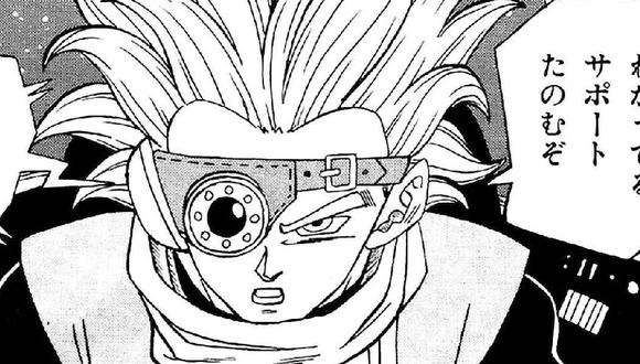 Granola en el último episodio del manga (Shueisha)