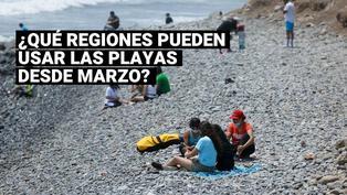 Todo lo que debe conocer sobre el uso de las playas desde este 01 de marzo