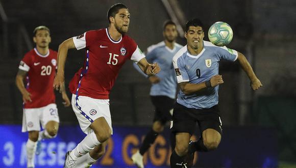 Uruguay vs Chile en vivo vía VTV: sigue aquí el partido por Copa América 2021.   Foto: AFP
