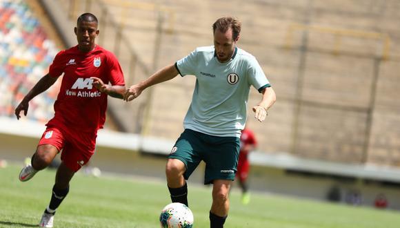 Hernán Novick marcó su segundo tanto en la pretemporada: con Ayacucho FC también anotó (Foto:Universitario de Deportes)