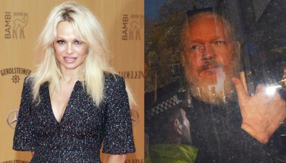Pamela Anderson explota en Twitter contra Donald Trump tras detención de Julian Assange. (Foto: :EFE)