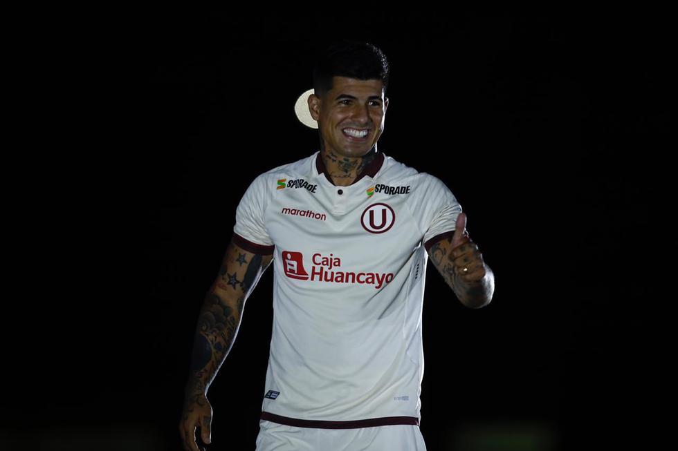 Noche Crema: Presentación de los jugadores de Universitario de Deportes en el estadio Monumental. (Fotos: Joel Alonzo/GEC)