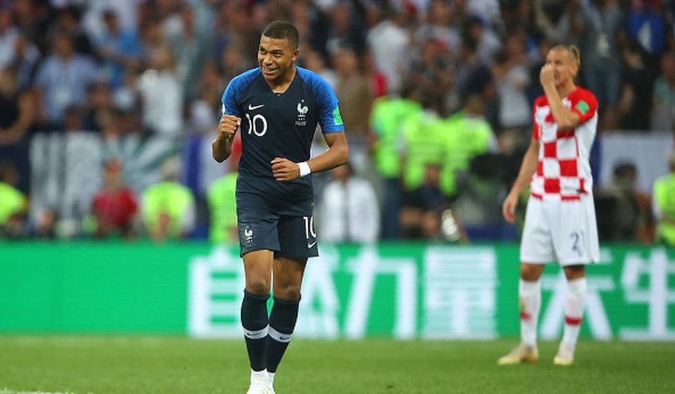 Francia vs. Croacia por la final del Mundial Rusia 2018 en Moscú. (Foto: Getty Images)