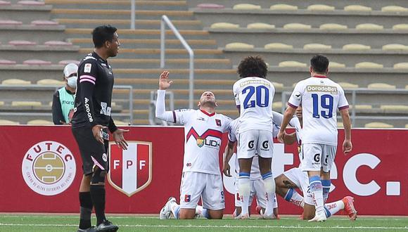 Carlos Neumann marcó el 2-0 para Alianza Universidad. (Foto: Liga 1)