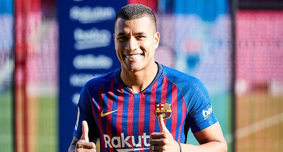 Jeison Murillo es el tercer colombiano en la historia del Barcelona. (Foto: Getty)