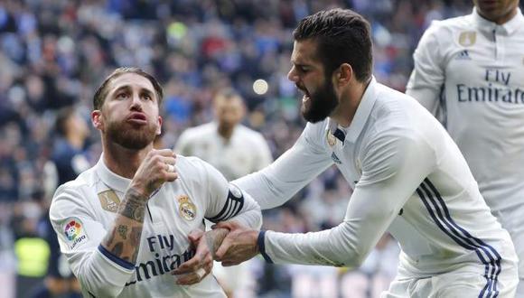 Nacho tiene contrato con el Real Madrid una temporada más. (Foto: AFP)