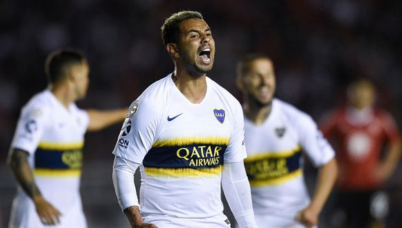 Edwin Cardona dejó Boca Juniors en la temporada 2018. (Getty)