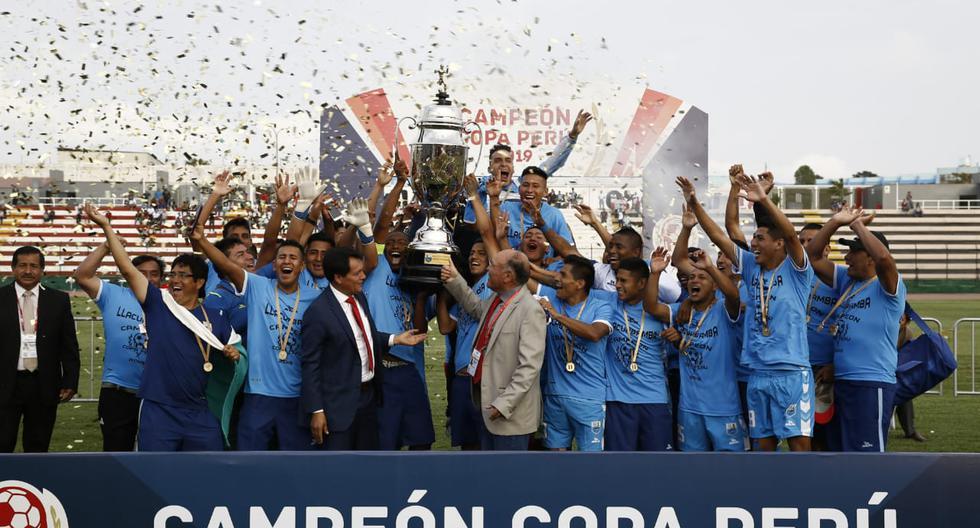 Deportivo Llacuabamba se coronó campeón de la Copa Perú 2019, tras el último duelo del cuadrangular final. (Foto: Renzo Salazar)