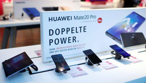 Móviles Huawei (Reuters)