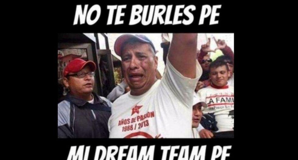 Universitario de Deportes y los memes en Facebook.