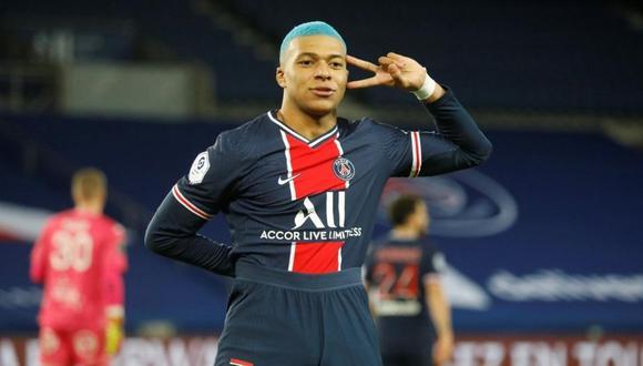 Kylian Mbappé tiene contrato con el PSG hasta el 2022. (Foto: Reuters)