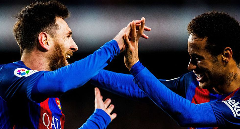 Neymar y Lionel Messi jugaron en el FC Barcelona durante cuatro temporadas. (Getty)