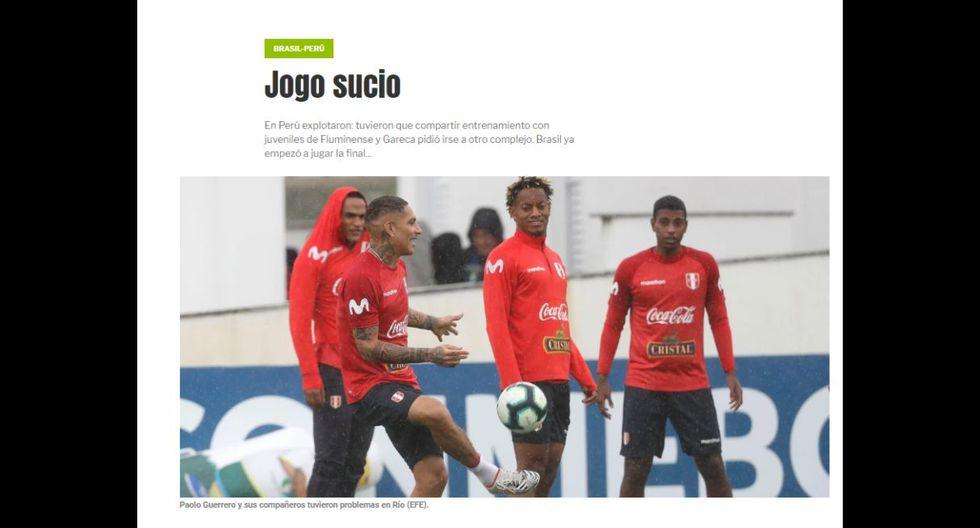 Perú vs. Brasil EN VIVO por la Copa América se podrá ver vía América TV y DirecTV. (Captura)