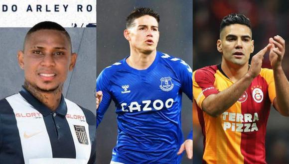 Arley Rodríguez, James Rodríguez y Juan Fernando Quintero fueron algunas de las figuras que brillaron en el Torneo  Pony Fútbol. (Fotos: Alianza Lima / Agencias)
