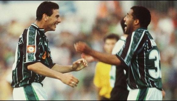 Claudio Pizarro y Ailton jugaron juntos en Werder Bremen (Foto: Bundesliga).