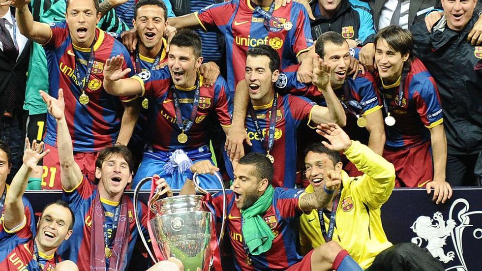 Qué fue del Barcelona campeón de la Champions League 2011 en Wembley.