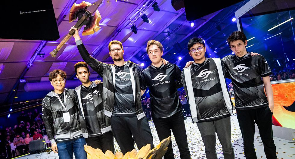 Team Secret es el gran campeón del MDL Disneyland Paris Major (Foto | Team Secret Facebook Oficiall)
