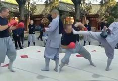 Más veloz que un rayo: Monje shaolín derrota a luchador de MMA de una sola patada