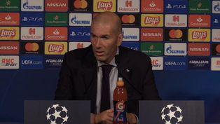 Zinedine Zidane disgustado con jugadores del Real Madrid