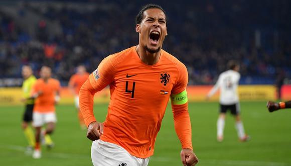 Virgil van Dijk no estuvo presente en la Eurocopa 2020 debido a una lesión. (Foto: AFP)