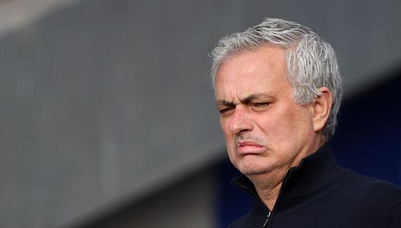 Jose Mourinho llegó a Roma tras casi dos temporadas como DT del Tottenham. (Getty)