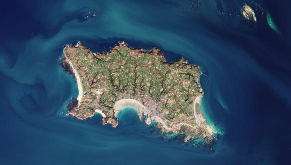 La isla está ubicada entre las costas de Inglaterra y de Francia. (Foto: Internet)