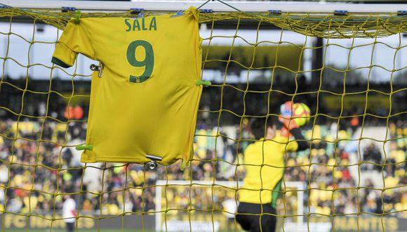 Emiliano Sala murió el 21 de enero tras un accidente de avión en el Canal de La Mancha. (AFP)