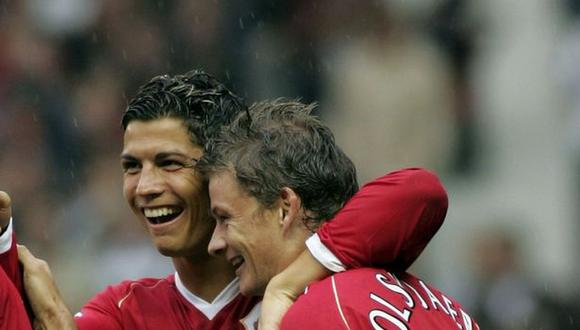 Cristiano Ronaldo ganó una Champions League con Manchester United. (Foto: AFP)
