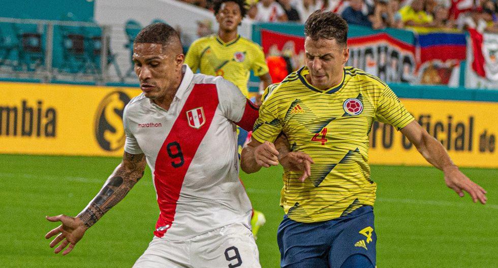 Perú debutaría contra Colombia en las Eliminatorias Qatar 2022. (Foto: EFE)