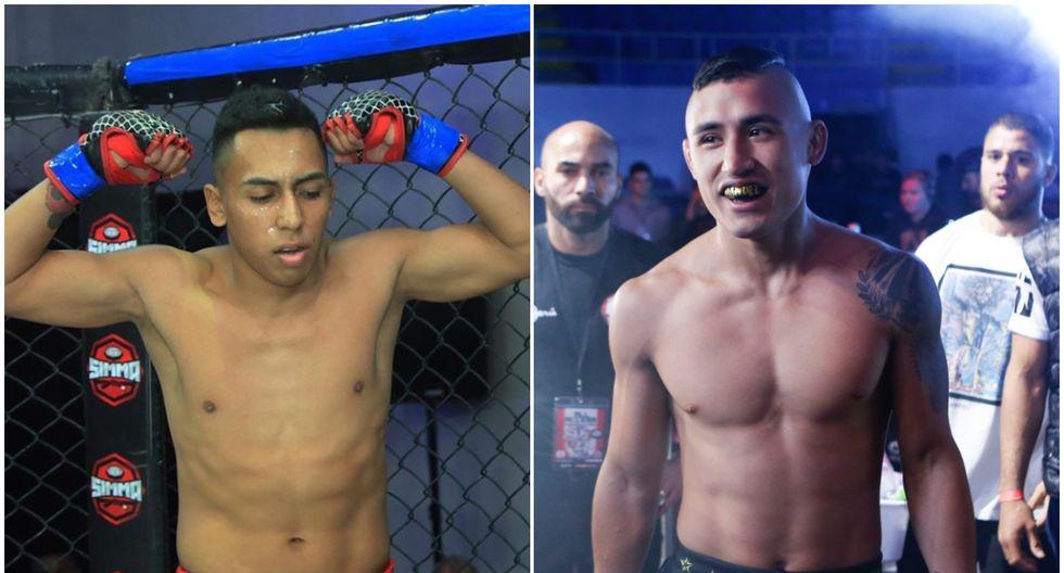 Kevin Borjas tiene un récord de 5-0 como peleador profesional; Renzo Méndez, de 13-6. (Fotos: Inka FC/ Combate Américas)